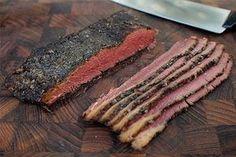 Pastrami v domacej udiarni Steak, Pork, Meat Products, Design, Syrup, Kale Stir Fry, Pigs, Steaks