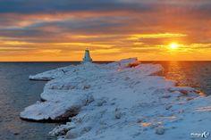 https://flic.kr/p/qDPanD   Ludington Lighthouse Sunset