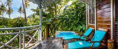 Fond Doux Plantation & Resort, St. Lucia - honeymoon suite