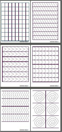 PRINTABLE - Cutting Templates & Suggestions of how to display on trays and order of presentation