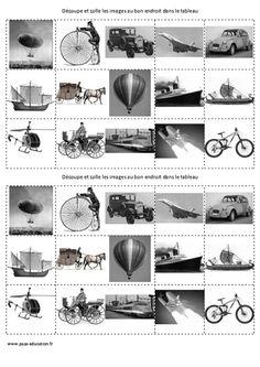 Les transports - XXe siècle à nos jours – Arts du quotidien – Cm2 – Histoire des arts – Cycle 3 - Pass Education
