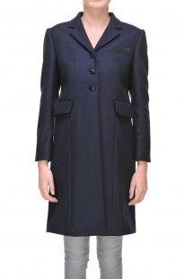 Miu Miu - Cappotto in duffle di misto lana :: Glamest Luxury Outlet Online Donna