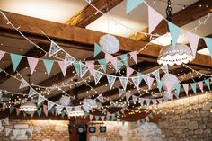 #wedding #vintagewedding #decor #vintage #hochzeit #esküvő #weddinglights #pompoms #banner Wedding Ceiling Decorations, Love Is Sweet, Banner, Lights, Banner Stands, Lighting, Banners, Rope Lighting, Candles