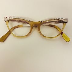 Vintage cats eye glasses  1960  vintage womens by Lilacwinevintage