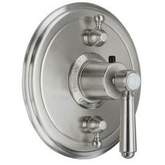 California Faucets Topanga StyleTherm Volume Controls Shower Faucet Trim Finish:
