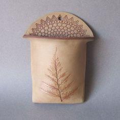Clay Wall Pocket | Pottery/Ceramic