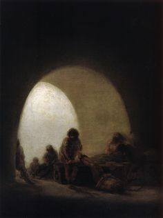 Plague Hospital - Francisco Goya - WikiArt.org