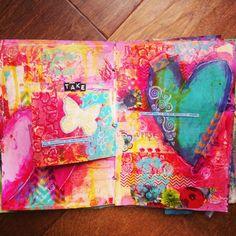 Mel's Art Journal | My art journaling journey Www.melsartjournal.wordpress.com