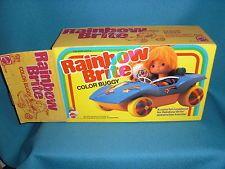 1983 RAINBOW BRITE COLOR BUGGY MATTEL TOY CAR UNUSED UNASSEMBLEDI IN BOX! MINT
