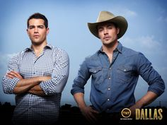 John Ross and Christopher Tv Shows 2013, Best Tv Shows, Movies And Tv Shows, Favorite Tv Shows, Dallas Tnt, Dallas Tv Show, Trailers, Josh Henderson, Hollywood Scenes