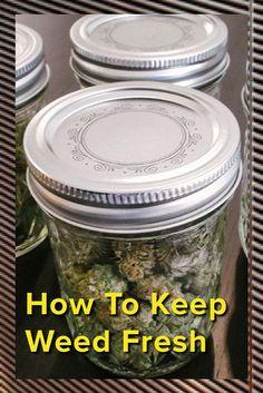 Marijuana Packaging: How To Keep Weed Fresh