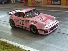 ACAR-RACING FOREST HILL: Porsche 934 Denver 24h Le Mans 1981 - H0 Custom Slot Car