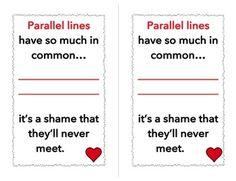valentine cards lines