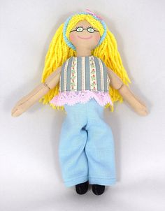 Blonde Doll  Kids Toy  Dress Up Doll