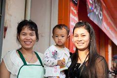 Portrait de famille à Kampong Cham