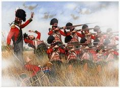 The captain of the line infantry would not be targetted because he is a gentlemen and was frowned upon, but could still be hit by stray bullets.    Railway Oggler: Napoleonic War Craze