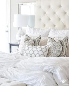 "It's a new year and I'm turning over a new leaf- I'm commiting to making the bed in the mornings before starting my days. Today was a success! Right now, my bedding (quilt, duvet cover, shams)  are on sale upmto 30% off, plus free shipping! You can link directly on my site (link in bio) by selecting the ""Shop"" tab ➡️ ""My Home"", and then clicking on this picture. Here's to starting tomorrow morning the same way! http://liketk.it/2q7bI @liketoknow.it #liketkit #ltkhome"