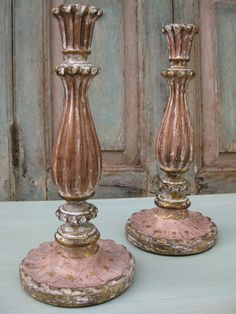 I love searching for European candlesticks in order to place in the Galleria.  These are an example of what is available in The Boutique.