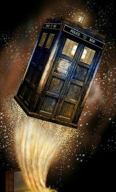 THE TARDIS 'OUT OF THE BOX'.