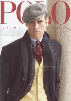 Ralph Lauren offers a world of luxury and comfort in men's and women's clothing. Discover the latest cashmere sweaters, shirts, jackets, home fashions and gifts at Ralph Lauren. Dapper Gentleman, Gentleman Style, Sharp Dressed Man, Well Dressed Men, Look Fashion, Mens Fashion, Preppy Fashion, Winter Fashion, Ivy Style