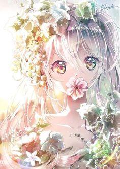 Trendy ideas for drawing anime girl cute Art Manga, Manga Anime Girl, Girls Anime, Kawaii Anime Girl, Fan Art Anime, Anime Artwork, Pretty Anime Girl, Beautiful Anime Girl, Anime Chibi