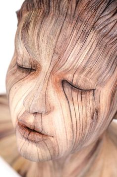 Christopher David White's surreal sculptures may look they're made out of wood, they're actually crafted with clay.