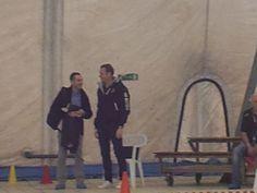 A bordo piscina con Iacopo Bologna...l'allenatore della squadra di pallanuoto