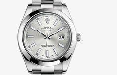 Datejust II #rolexwatches #rolex #menswatches  #luxurywatches #GEARYS http://www.GEARYS.com/rolex