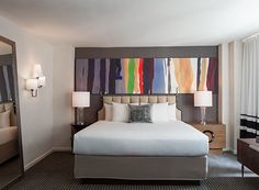 Affinia 50 Hotel: Dragon 88's custom digital printed pillows
