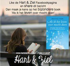 #facebook #leven #boek #winnen #like #winactie #gelukkig #mindstyle #hartziel #boeken #lezen #Bronnieware