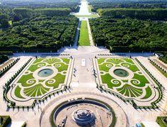 Aerial View of the Domain of Versailles. Credit ToucanWings