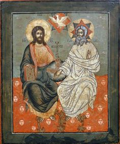 Father, Son and the Holy Spirit icon...ive always wondered how the holy spirit does look like...however, its abit scarry though :-)