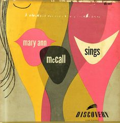 Mary Ann McCall Sings – vintage record album