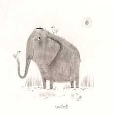 SKETCHBOOK: Happy World Elephant Day One of my most...