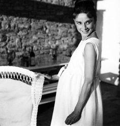 Audrey Hepburn Pregnant