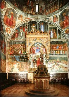 Battistero del Duomo, Padova, Italy : an unknown masterpiece from the 13th century !