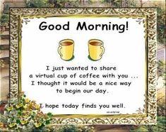 Good Morning Bubbler Friends