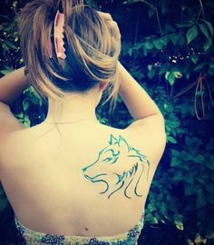 That's my wolf tattoo.