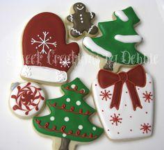 Sweet Creations by Debbie: Galletas de Navidad y mi primera boutique