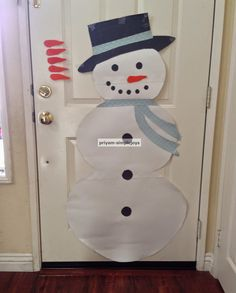 SimpleJoys: Pin the nose on the snowman game