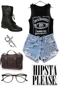 """""""hipsta please"""" by meg-brunette ❤ liked on Polyvore"""