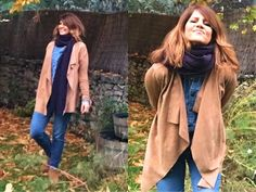 Transforma tu viejo jersey en LA CHAQUETA de MODA. Muy fácil !! / DIY - YouTube Ideas Para, Duster Coat, Sewing, Jackets, Fashion, Wool Jackets, Wool Sweaters, Wool Yarn, Upcycled Clothing