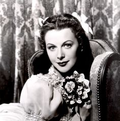 Hedy Lamarr #hollywood #classic #actresses #movies