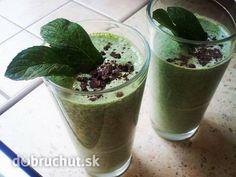 Zelený špenátový smoothie