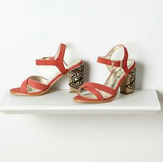 Stunning shoes amazing I used only 3 times is gorgeous and perfect condition Anthropologie Shoes