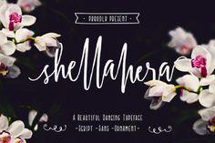 Shellahera Script by lostvoltype  ShellaHera is a handwritten...