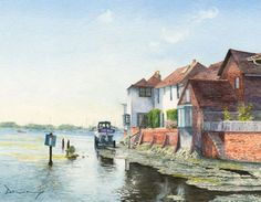 Bosham Harbour West Sussex - Prints Of Painting Drury Art Gallery