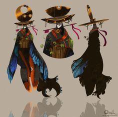Shadow Reaper , Maja-Lisa Kehlet on ArtStation at https://www.artstation.com/artwork/YrByX