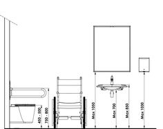 Norman, Toilet Design, Coffee Shop, Floor Plans, How To Plan, Bathroom, Architecture, Craft, Interior