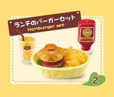Pom Pom Purin Cafe restaurant food Re-Ment miniature blind box - Re-Ment Miniature - kawaii shop modeS4u